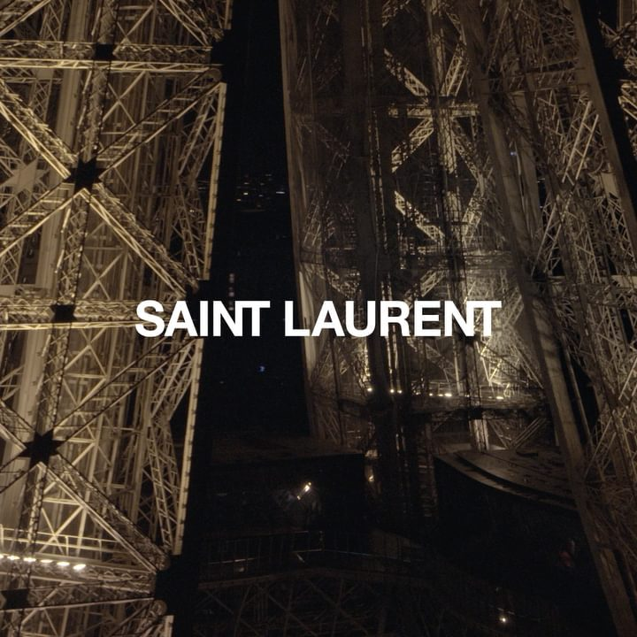 Saint Laurent Paris shop